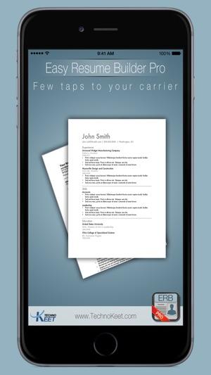 Einfach Lebenslauf Pro: Schreiben für die Jobsuche Screenshot