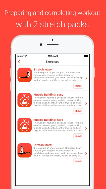 Muscle Building Workout - Your Personal Fitness Trainer for power, endurance and strength screenshot-3