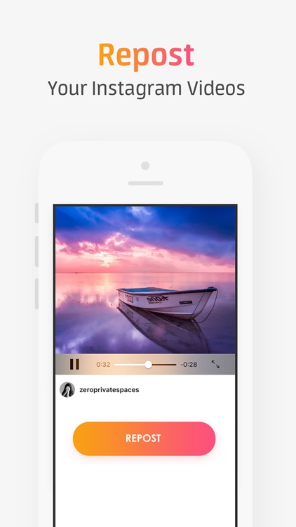 RepostMe for Instagram- Repost Your Own Photo & Video from Instagram screenshot-3