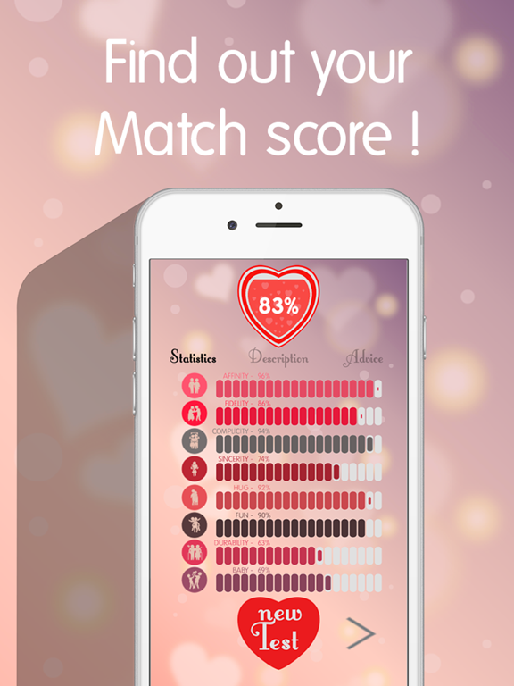Love Test 2016 - Name Compatibility Tester Calculator | App