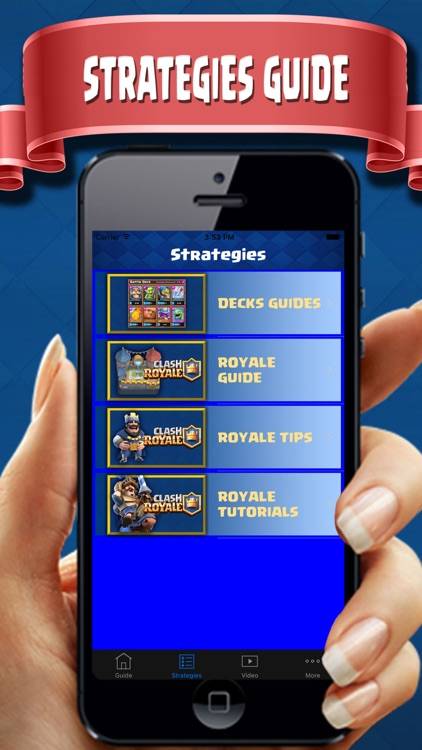 Complete Guide  for Clash Royale - Deck Builder, tipster, Strategies & Tactics pro! screenshot-1