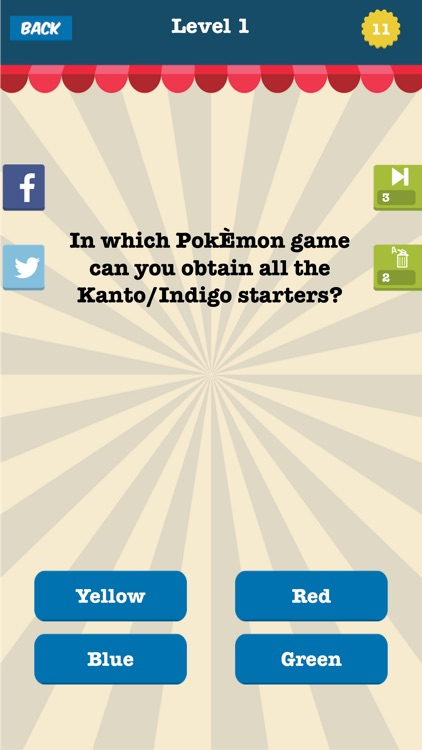 Cartoon Trivia Questions and Answers - Ultimate Quiz For Pokemon Fans screenshot-3