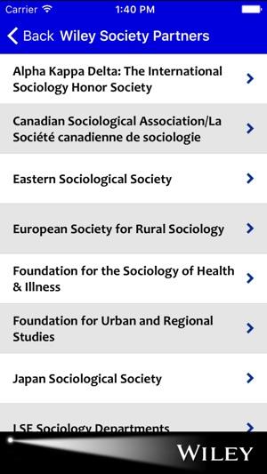 Sociology Spotlight on the App Store