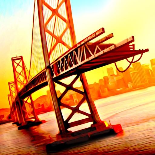 Bridge Construction Simulator 3D a Real City Building Physics Sim