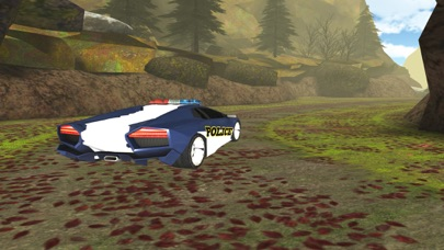 3D Off-Road Police Car Racing  - eXtreme Dirt Road Wanted