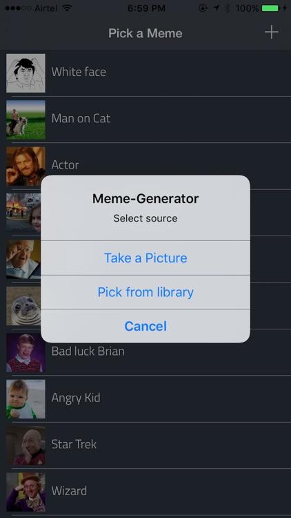 Meme Creator - Make Funny Memes screenshot-3