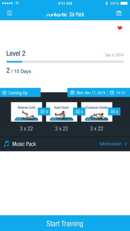 Runtastic Six Pack Abs Workout & Core Trainer
