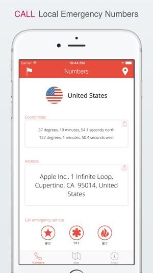 TripWhistle Global SOS - International Emergency Phone