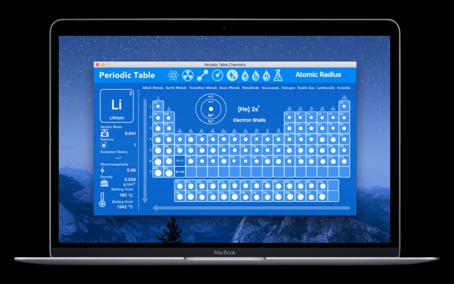 Periodic table chemistry on the mac app store urtaz Choice Image
