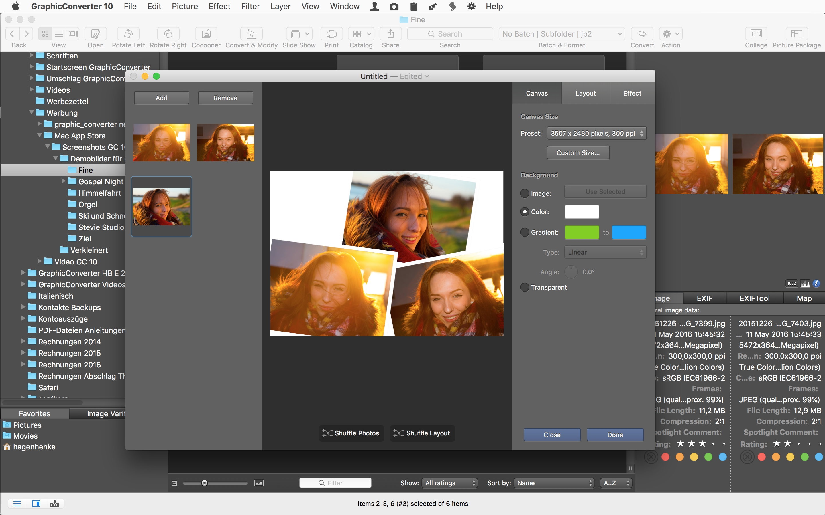 Screenshot do app GraphicConverter 10