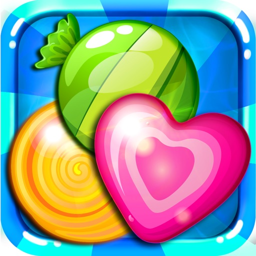A Candy Star - sweetest mania and match-3 angry juice heroes swap free iOS App