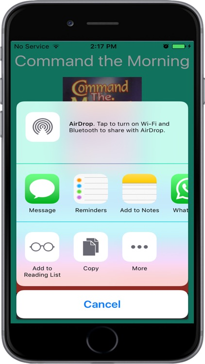 Command the Morning screenshot-3