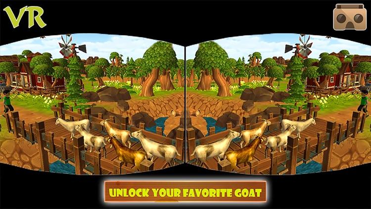 VR Angry Goat Simulator 3D screenshot-3