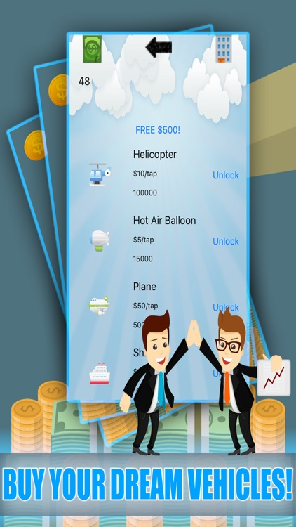 Coin Billionaire - Clicker Road To Your Own Successful Business Free Game