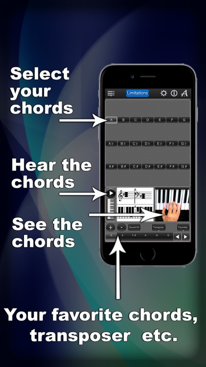 Piano Chords Lite screenshot-0