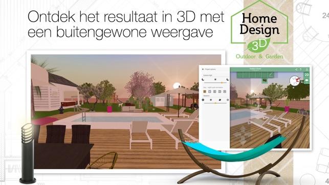 Tuin Ontwerpen App : Home design d outdoor garden in de app store