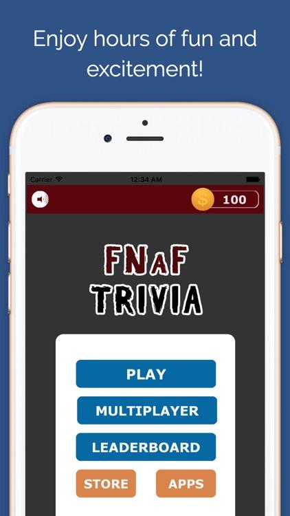 Five Nights Trivia Quiz - FNAF Fan Edition screenshot-3