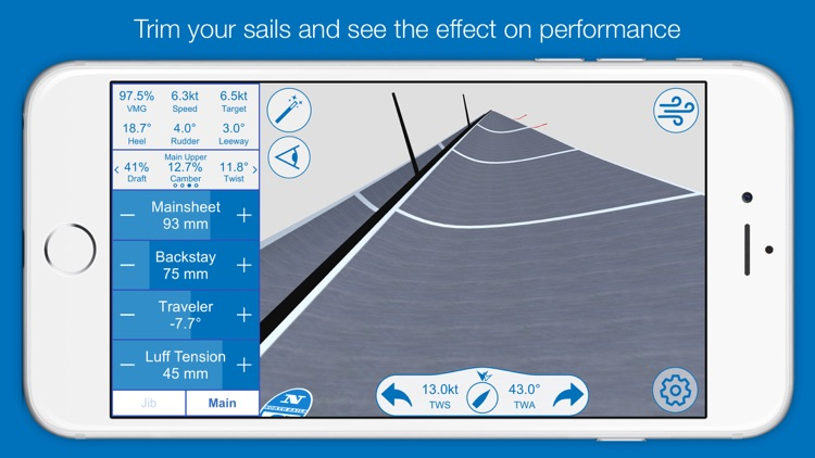 North U Sailing Trim Simulator - Virtual, Sailor, Wind, Navigation, Regatta screenshot-1
