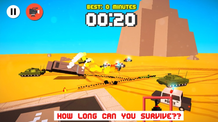 Smashy Dash 2 PRO - Crossy Crashy Cars and Cops - Wanted