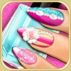 Jeux de manucure pour fille: Jeu de décoration d'ongles pour les filles