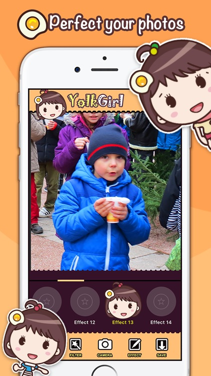 Yolk Girl Photo Editor 360 Pro - photo booth effects live on camera