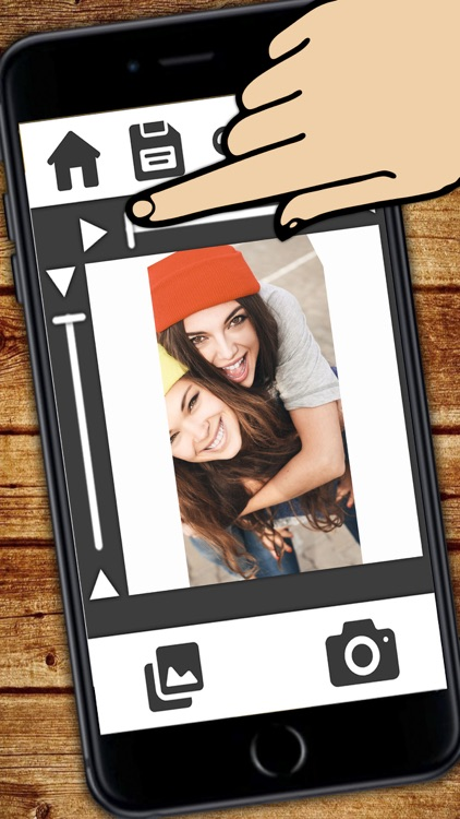 White frame for your photos