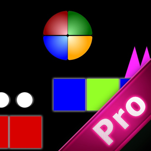 A Mystery Circle Color In Geometric Pro - Awesome Ball Jump World Game