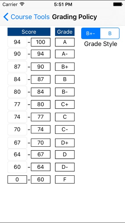 Grade Calculator Plus screenshot-0