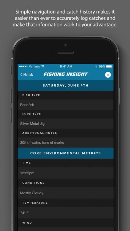 Fishing Insight - Intelligent Fishing Logbook screenshot-3