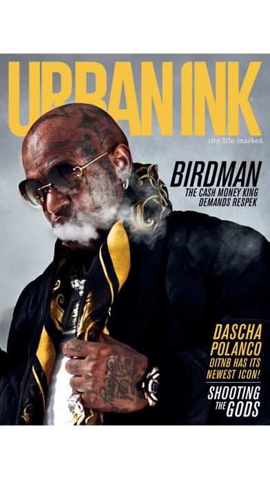 Urban Ink - The Only Tattoo Magazine For People of Color! Screenshot