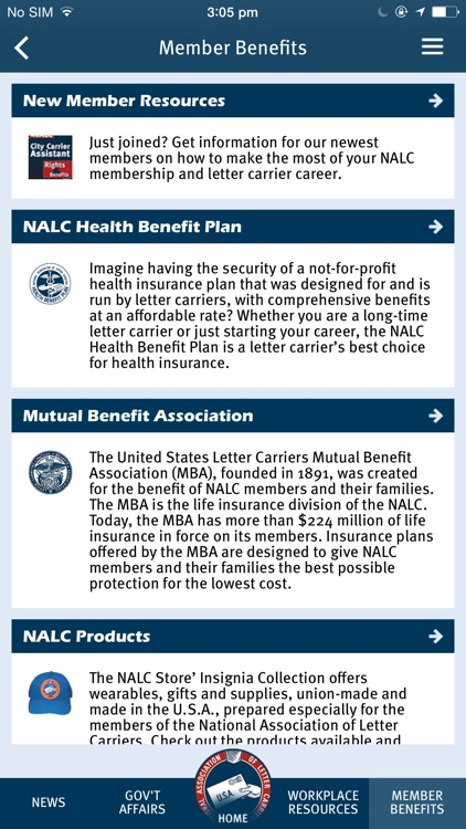 NALC Member App screenshot-4
