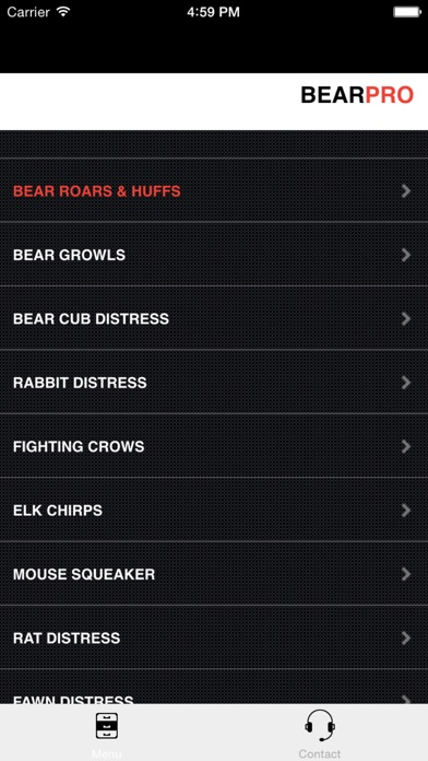 Screenshot for REAL Bear Calls - Bear Hunting Calls - Bear Sounds in Canada App Store