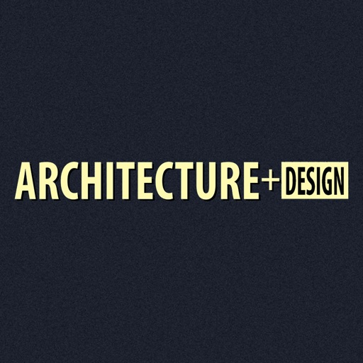 Architecture + Design Mag icon