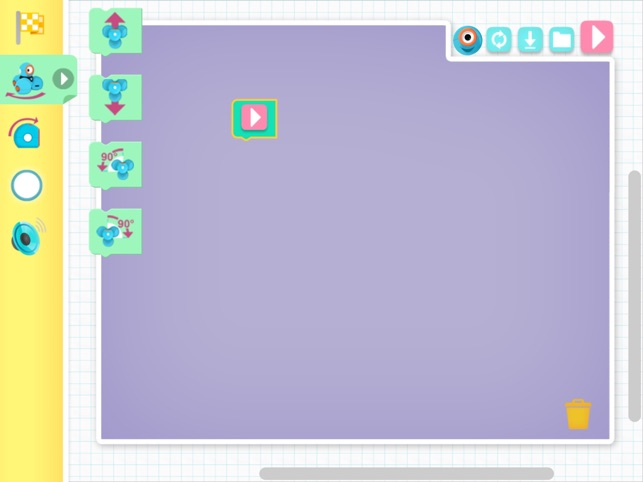 Blockly Jr  - Everyone can program Dash and Dot robots! on the App Store