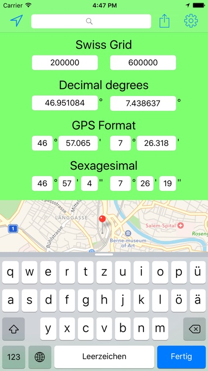 Swiss Grid Coordinates Tool screenshot-4