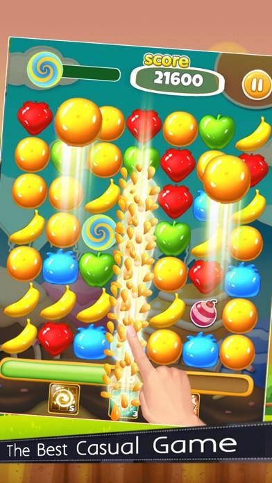 Fruit Line Pop - Pop Pop Fruit Edition screenshot one