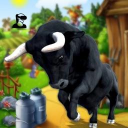 VR Angry Cow Farm Simulator