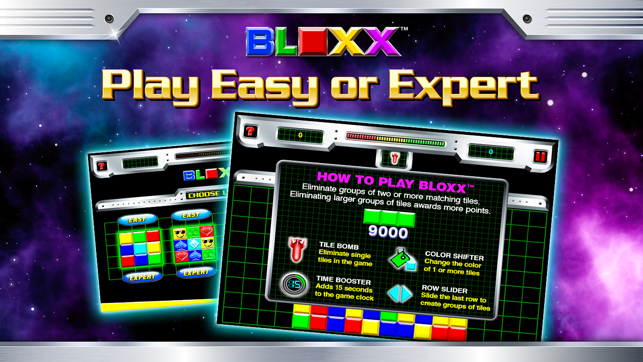 Bloxx Skillz, game for IOS