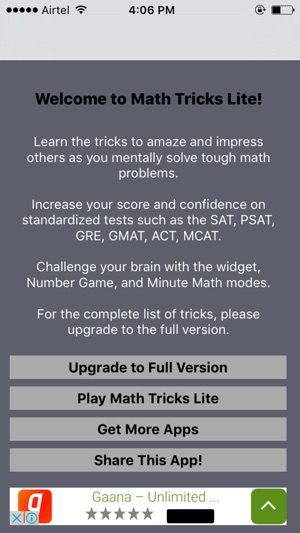 Fun Math Tricks on the App Store