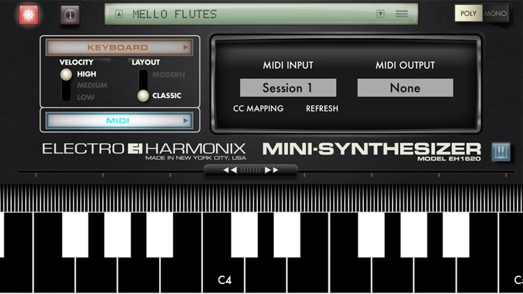 Mini Synthesizer for iPhone screenshot-4