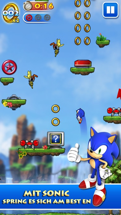 Sonic Jump™Screenshot von 2