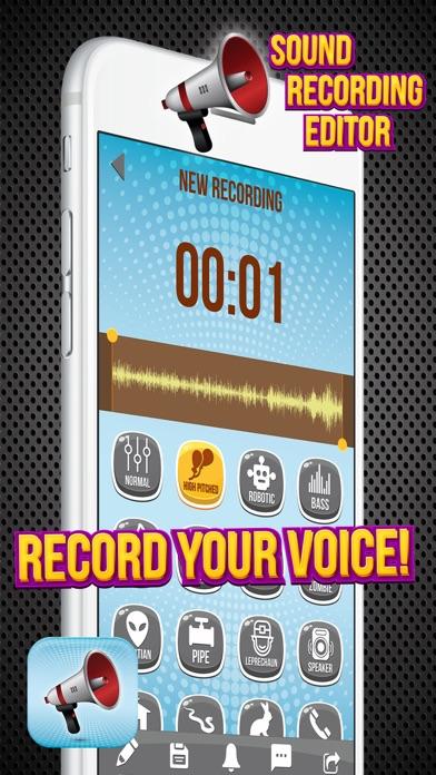 点击获取Sound Recording Editor - Change Your Voice and Make Pranks with Funny Special Effect.s