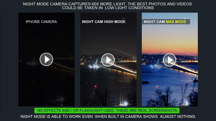 Night Capture (Photo & video, Slow shutter speed)