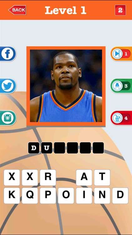 Guess The Basketball Player screenshot-1
