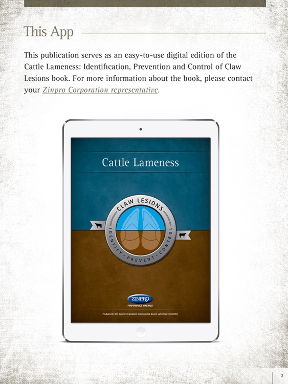 Cattle Lameness Book by Zinpro Corporation: Identification, Prevention and Control of Claw Lesions