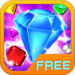 Gems Blast puzzle:Free fun match 3 games