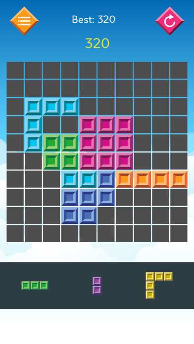 1010 Qubed Merged Blocks Grid Fit: a new color switch puzzle