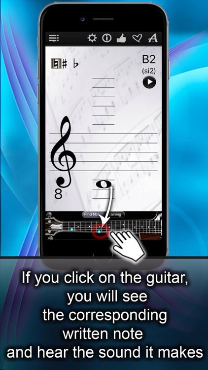Guitar Notes Finder