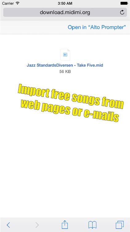 Alto Sax Prompter screenshot-3