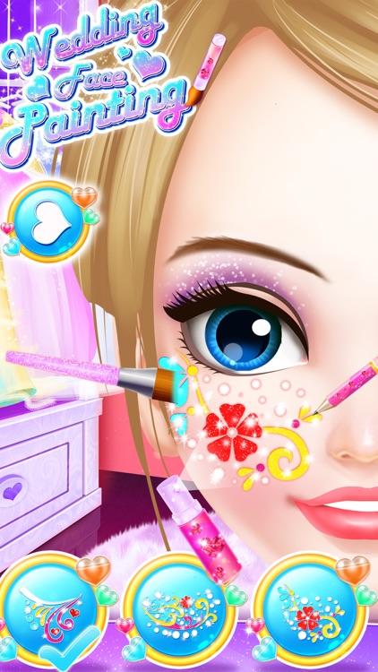 Wedding Face Painting Makeup For Elsa screenshot-3